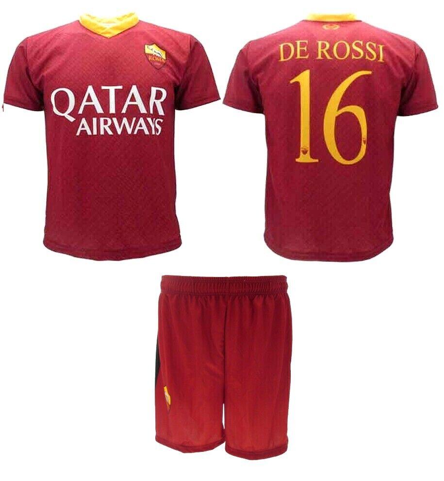 Maglia Calcio  Pantaloni Ufficiale DE ROSSI  A.S. ROMA N 16 DANIELE  2019