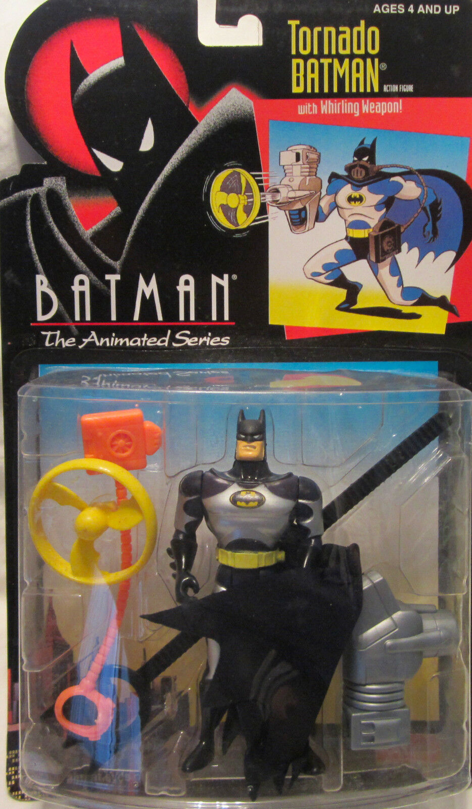 Rare Batman The Animated Series Tornado Batman 2002 Funskool