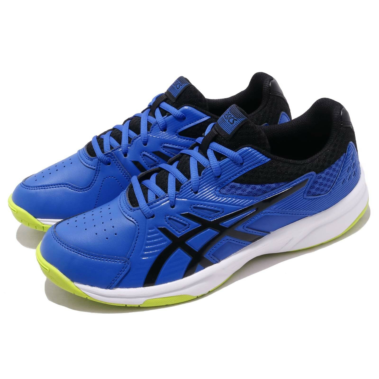 Asics Court Slide Illsion bluee Black Whit Men Tennis shoes Sneakers 1041A037-407