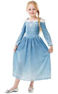 Disney Olaf/'s Frozen Adventure Elsa Fancy Dress Costume