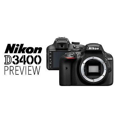 Original Box BRAND NEW Nikon D3400 DSLR Camera BODY ONLY 4th Of July Sale