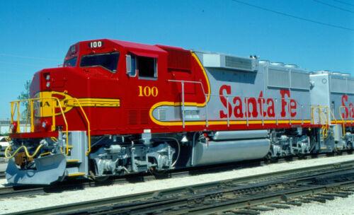 3//4 Roster View Original Railroad Slide Santa Fe GP60M 100 BRAND NEW in 1990