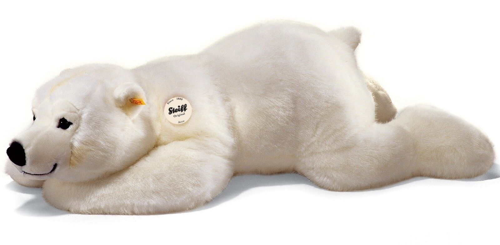 Steiff Arco Polar Bear baby classic washable soft toy - 45cm - EAN 115110