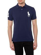 New NWT Mens Ralph Lauren Polo Shirt Big Pony Custom Fit Small Medium Large XL