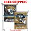 Jacksonville-Jaguars-Logo-Garden-Outdoor-Flag-Double-Sides-12x18-034-NFL-2019-NEW thumbnail 1