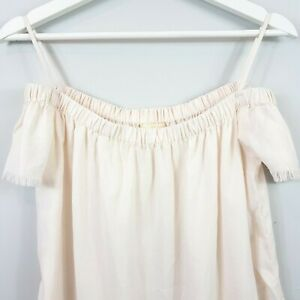 ANTHROPOLOGIE-Cloth-amp-Stone-Womens-Off-Shoulder-Top-Size-XS-or-AU-8-US-4