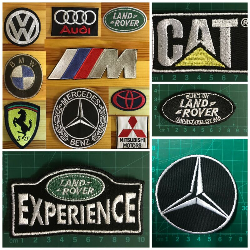 Embroidered Automotive patches