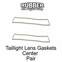 1966 Ford Thunderbird Taillight Lens Gaskets - Center - Pair