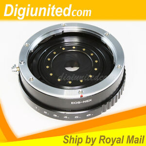Canon-EOS-EF-mount-lens-to-Sony-E-NEX-mount-adapter-with-APERTURE-CONTROL