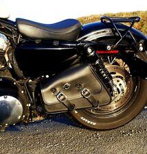 'Bobber Bracket' Solo Swingarm Bag Hard Mount Kit for Harley Sportster 48 and 72