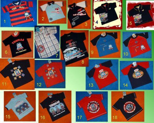 Cool thomas /& Friends t-shirt 74-104 18 modèles NEUF
