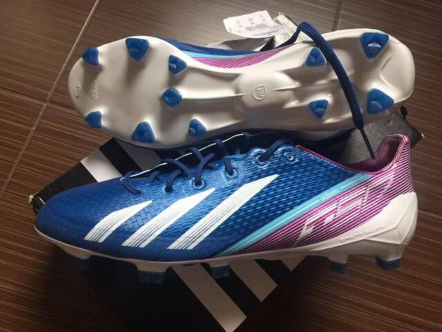 Adidas adizero F50 TRX FG hombres soccer cleats zapatos g65309 Azul US 11