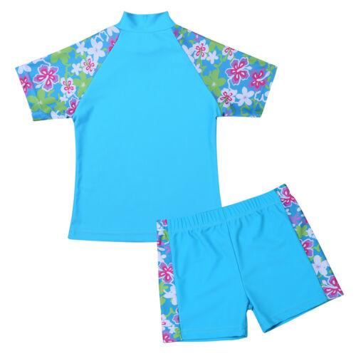 Sonnenschutzkleidung Schwimmübung Badebekleidung für 2tlg Kinder Strandkleidung