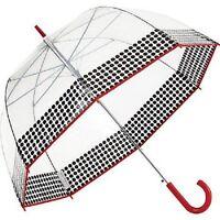 Shed Rain Shedrain Bubble Stick Fashion Large Umbrella Auto Open Yippee Red
