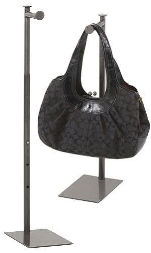 "Purse Stand Countertop Counter Display Handbag Steel Adjustable Heigh 24/"" 36/"""