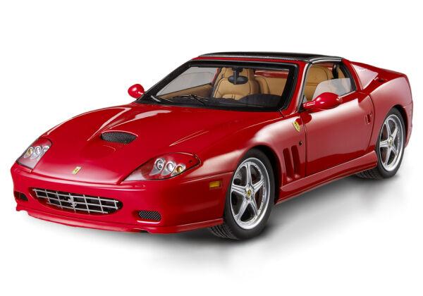 2005 FERRARI SUPERAMERICA 575 RED HOT WHEELS SUPER ELITE 1 18 NEW IN SEALED BOX