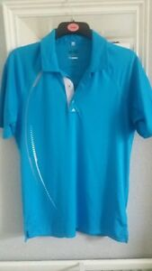 Mens-Adidas-pure-motion-coolmax-polo-top-size-S-chest-40-ins