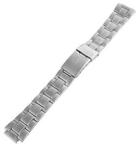 Edelstahl-Gliederarmband-Uhrenband-Silber-14-mm-Ersatzband-X-RP8122514055