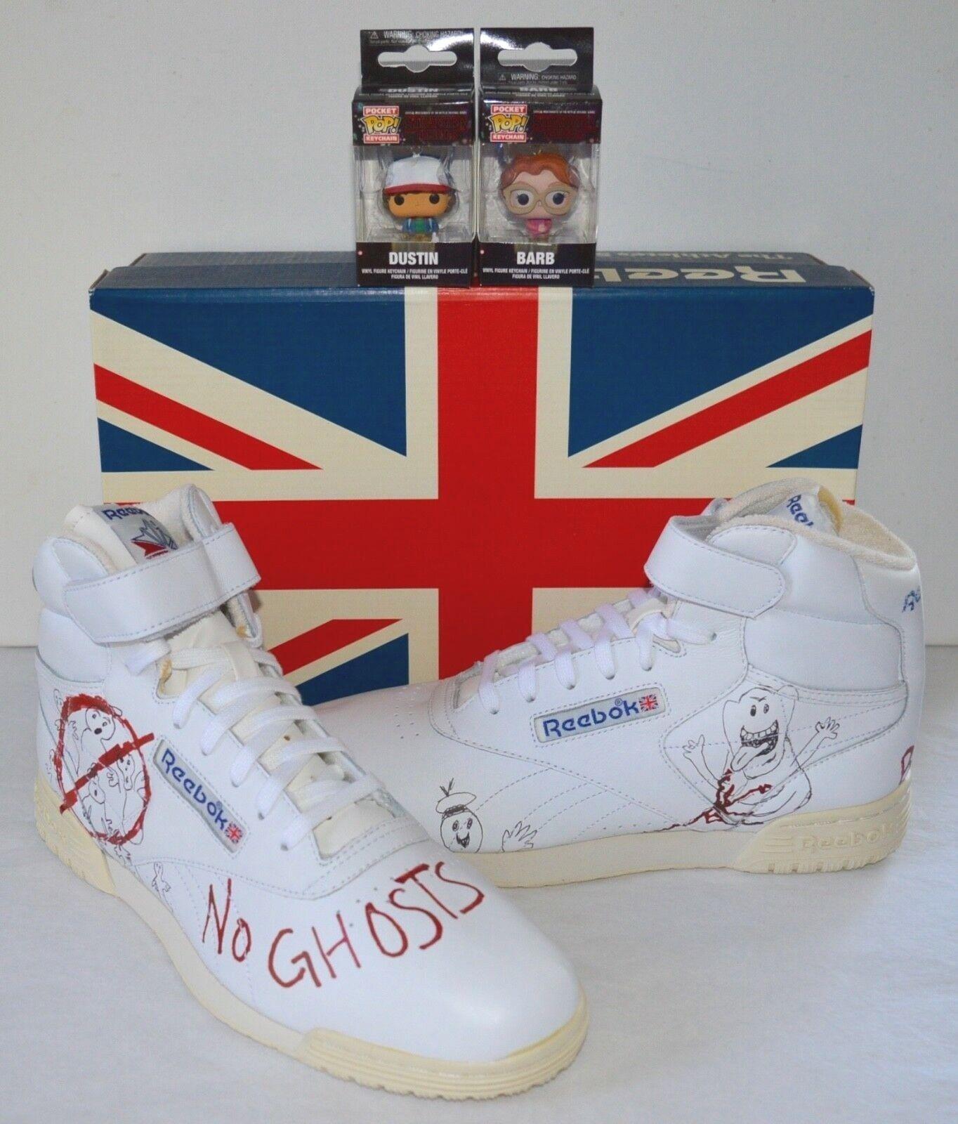 Nuevo Reebok Ex-o-Fit Limpio Vintage ST BAIT Stranger X Ghostbusters Pop Things X