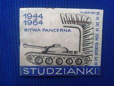 17. Vintage Label with of matches - Etykiety z zapalek