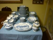Coaching Scenes Ironstone Dishes,Johnson Bros Made in England.