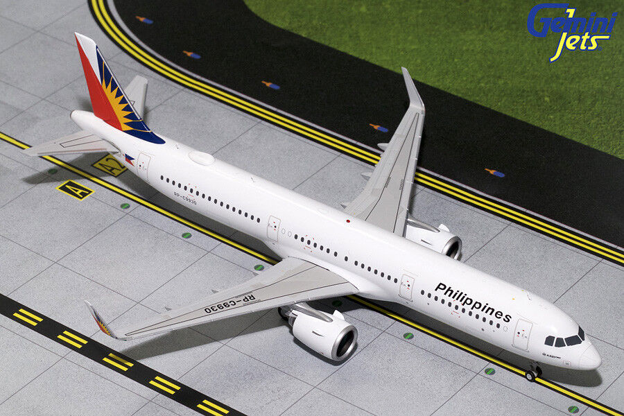 GEMINI JETS PHILIPPINES AIRLINES AIRLINES A321NEO 1 200 DIE-CAST G2PAL788 IN STOCK