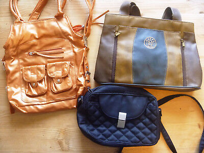 3 schöne Handtasche 2 davon Neu Shopper