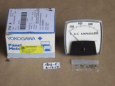 New In Box Yokogawa 250340lssn Analog Panel Meter 0 800 Ac Amperes