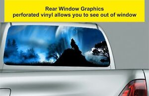 Window-Graphic-Tint-Truck-Jeep-SUV-Lone-Wolf-At-Night-Sticker-205