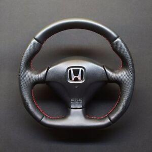 FLAT BOTTOM STEERING WHEEL HONDA ACURA CIVIC SPORT TYPE R VII GEN - Acura steering wheel