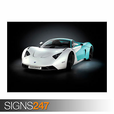 Car Poster Photo Picture Poster Print Art A0 A1 A2 A3 A4 MARUSSIA B1 0425
