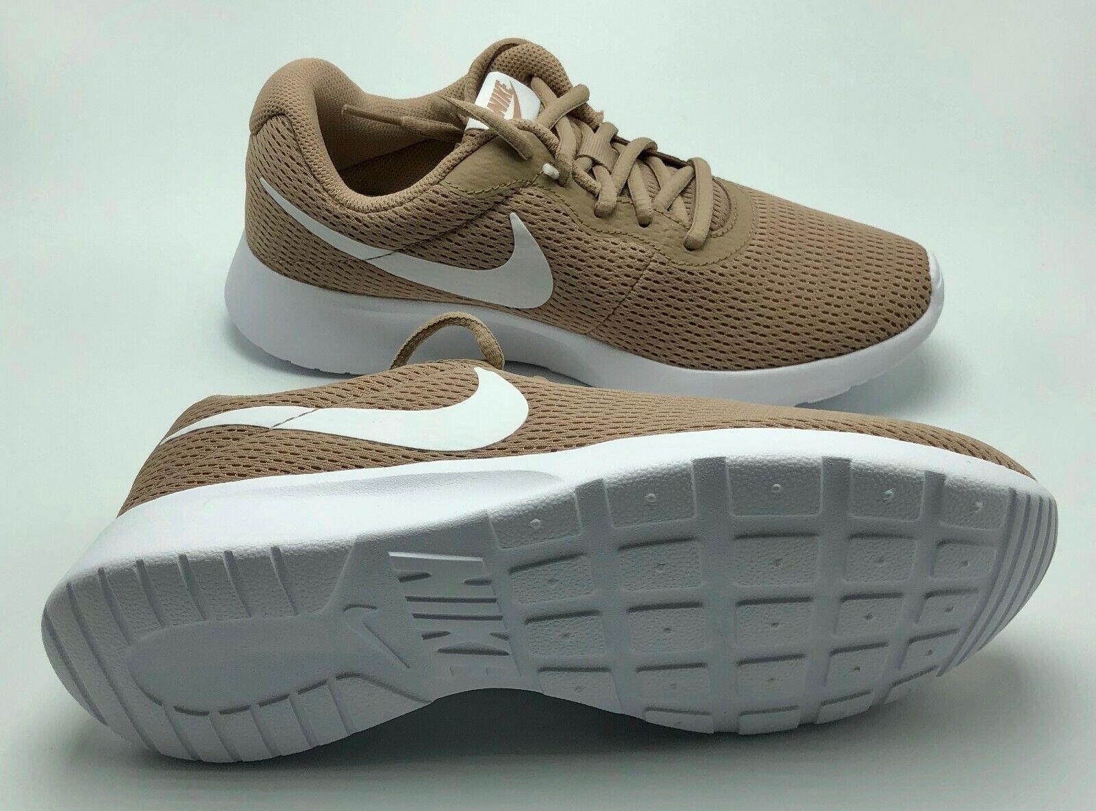 Nike Women's Tanjun Tanjun Tanjun Running shoes Sand White US 7 6909e3