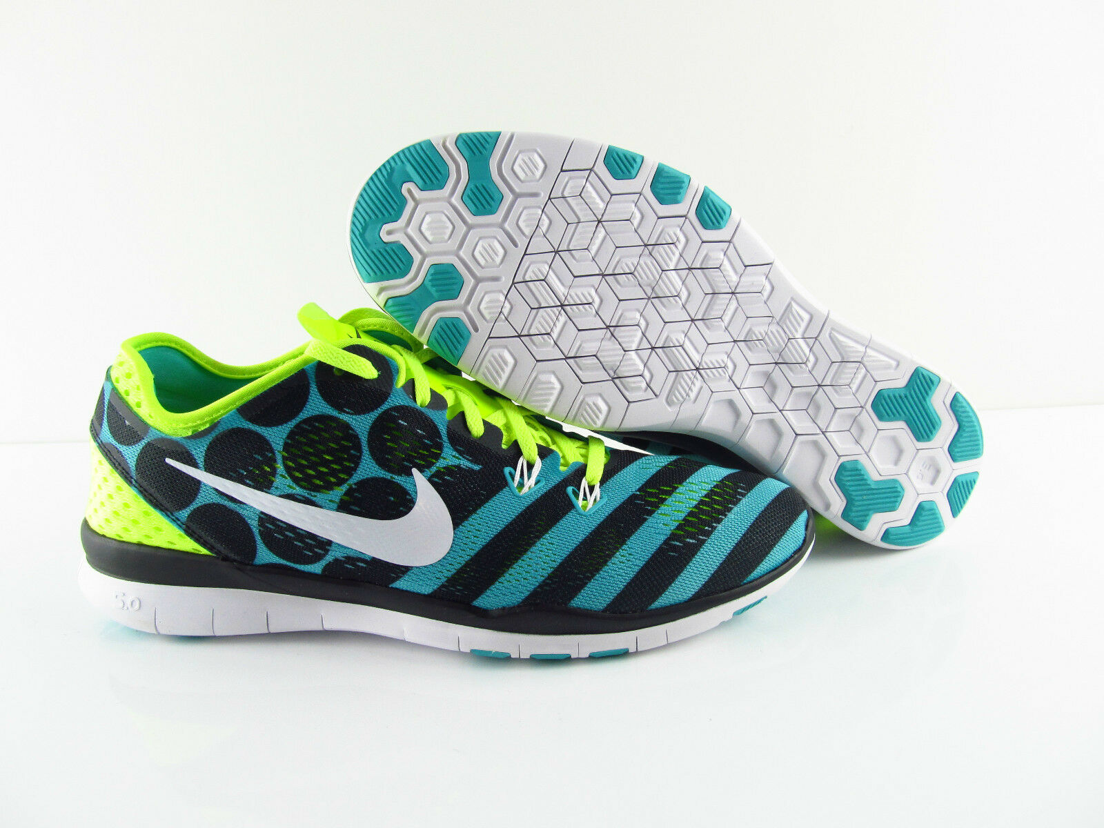 Nike wmns free 5.0 TR retro fit 5 PRT Negro Blanco LT retro TR voltios New corriendo 38 17826d