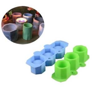 Silikon-Kaktus-Blumen-Topf-Form-keramischer-Lehm-Casting-konkrete-Schalen-Form
