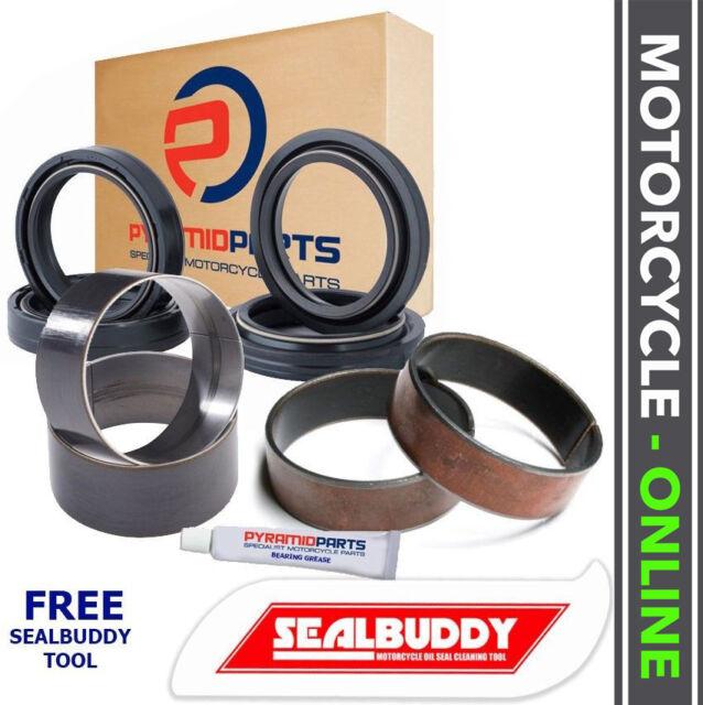 Honda XR600 R 88-00 Fork Seals Dust Seals Bushes Suspension Kit