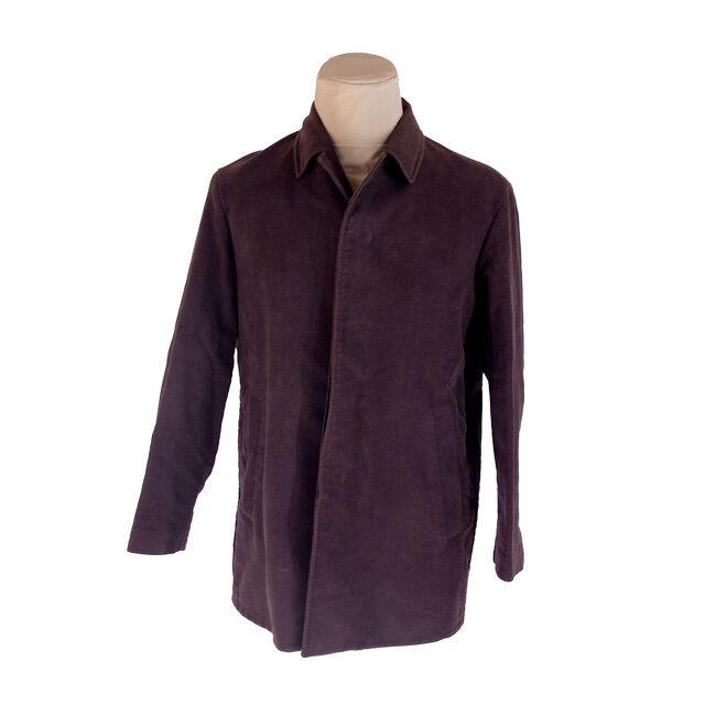 Jil Sander abrigos chalecos Marrón para Hombre Auténtico utilizado G1210