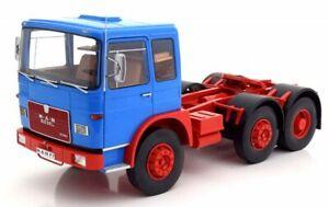 à Condition De Man 16304 F7 1972 Blue & Red Camion Truck 1:18 Model Roadkings