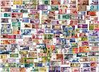 """LOTTO Lot 150 Banconote DIFFERENTI in FDS - UNC """"Banconote autentiche"""""""