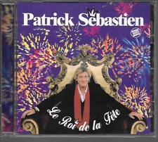 CD ALBUM 16 TITRES--PATRICK SEBASTIEN--LE ROI DE LA FETE--2002