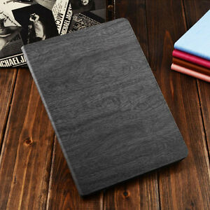 Wooden-Leather-Stand-Flip-Case-Smart-Cover-For-iPad-Mini-1-2-3-4-5-Air-Pro-Apple