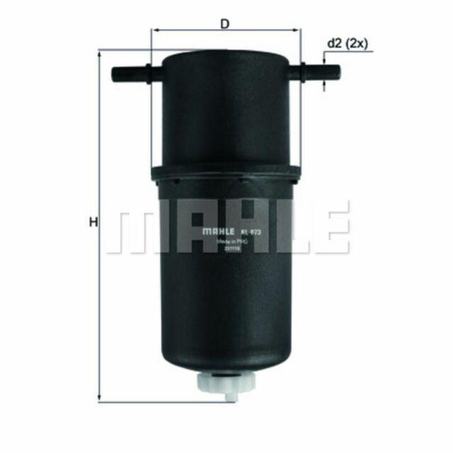 Kraftstofffilter KNECHT KL 873