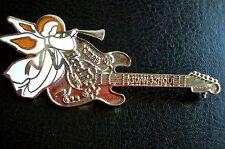 HRC Hard Rock Cafe Guangzhou Christmas 1999 Silver Guitar White Angel