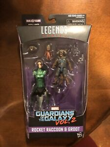 2 Marvel Legends baf MANTIS ROCKET RACCOON BABY GROOT GUARDIANS OF GALAXY VOL