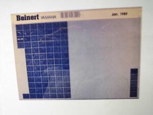 YAMAHA-FZR-600-H-N-M-1989-microfilm-MICROFICHE-catalogo-pezzo-di-ricambio
