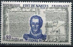 Stamp / Timbre France Neuf Luxe N° 1618 ** Henri Iv Et L'edit De Nantes Style à La Mode;