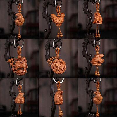 Mini Chinese Stylish Lion Keyring Bags Hanging Pendant Lion Dance Keychain DE