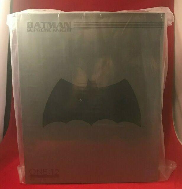 """MEZCO One:12 Collective BATMAN Supreme Knight Action Figure 6"""" NEW IN BOX"""