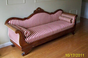 Genial Details About ANTIQUE 1800S AMERICAN EMPIRE SETTEE SOFA COUCH   PICK UP  ONLY