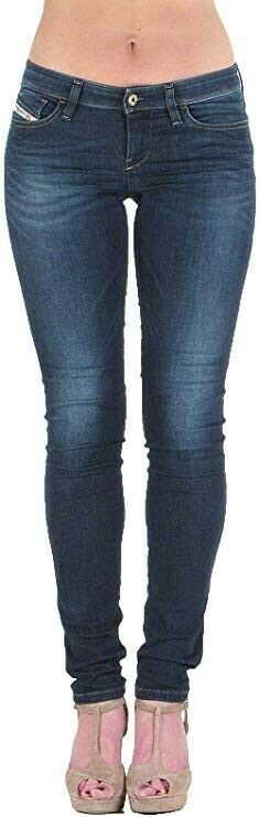 Haut Femme Diesel Skinzee Jeans W27/l32 Wash 0822x - £ 69.99