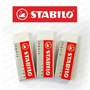 Stabilo-Legacy-Mars-Erasers-Plastic-Rubber-Erasers-Pack-of-3